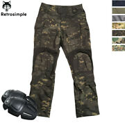 Menand039s Gen3 Combat Pants Army G3 Cargo Military Tactical Casual Trousers Hiking
