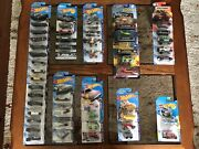 Hot Wheels Collection, Lot Of 48 Hw 164 Batmobile, Fast And Furious, And More..