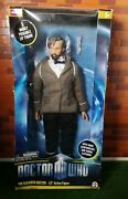 Rare Doctor Who Action Figure The Eleventh Doctor With Beard 10 Inch Boxed New