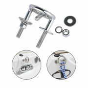 Marine Stainless Steel Boat Mooring Cleat Diving Rope Cleat Drag Hook Heavy Duty