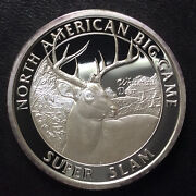 North American Hunting Club Whitetail Deer Super Slam Silver Medal A4341