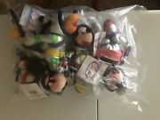 Disney Tomorrowland Bean Bag Set Lot Of 5 Sealed New With Tags