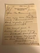 Harlan Stone Autograph Letter Signed As Supreme Court Justice - Touching Content