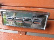 1965-68 Dodge Plymouth Lh Front Door Gang Master Switch Power Window 1