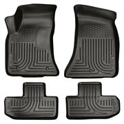 98071 Husky Liners Floor Mats Front New Black Coupe For Dodge Challenger 11-15