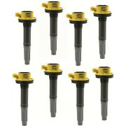 140060-8 Accel Set Of 8 Ignition Coils New For F150 Truck Ford F-150 Mustang