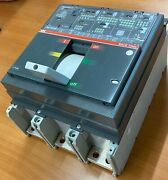 Abb Moulded Case Circuit Breaker 3 Pole 1250 Amp With Solid State Release