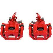 S6384 Powerstop 2-wheel Set Brake Calipers Rear Driver And Passenger Side For Vw