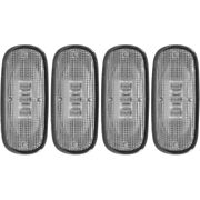 861104 Anzo Side Markers Set Of 4 Rear Driver And Passenger New For Ram Truck