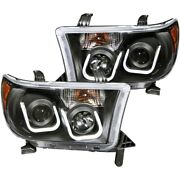 111294 Anzo Headlight Lamp Driver And Passenger Side New Lh Rh For Toyota Tundra