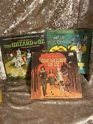 Vintage 1969 Disneyland Record And Story Lot. Wizard Of Oz Lp And Story Book