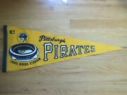 Vintage 70s Pittsburgh Pirates 29 Pennant Roberto Clemente Willie Stargell