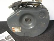 Mercedes Mb Vintage Spare Tire Gas Jerry Can S Sl G Container With Nos Screw