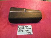 Glove Box Genuine Vintage Factory Oem With Lock And Key Free Shipping