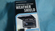 Scosche Offroad Vehicle Marine Stereo Flip-top Radio Cover Acm3w New