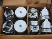 Engine Pistons 1952 1953 1954 1955 Ford Truck 317 Engine - Semi New Nos