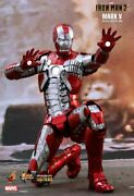 Dhl 1/6 Hot Toys Mms400d18 Marvel Iron Man 2 Mark V Mk5 Movie Action Figure