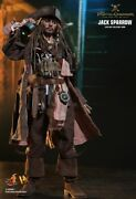 1/6 Hot Toys Dx15 Pirates Of The Caribbean Jack Sparrow Action Figure