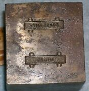 Wwii Mines And Coast Arty Army Marksman Badge Clasp Stamping Die Mc Lilley