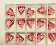 Vintage ® Wild Heart Crystal Beads 5743 - 12mm - Rose - 108 Pieces