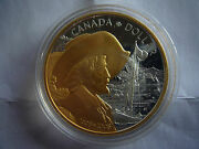 Great Holiday Gift 2008 Canada Quebec City Proof Silver Dollar Gold Plated