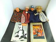 Charming Antique Early 20th Century Punch And Judy Set