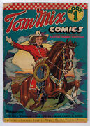 Tom Mix Comics 1 2.5 Ralston Purina Promotion Comic 1940 Off-white Pages