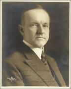Calvin Coolidge - Inscribed Photograph Signed
