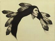 Frank Howellwind Flower 1996 Hand Signed Lithograph On Paper Make An Offer