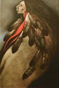 Frank Howellplain Wind1985 Hand Signed Lithograph On Paper Make An Offer