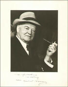 Herbert Hoover - Inscribed Photograph Signed