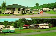 Lancaster Pa Old Mill Stream Camping Trailer Camper Manor Postcard Used 13220