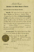 Herbert Hoover - Civil Appointment Signed 06/05/1929 With Co-signers