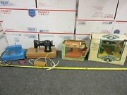 Lot Of 4 Vintage Toy Sewing Machines Holly Hobbie, Cabbage Patch, Sew-ette, Alps