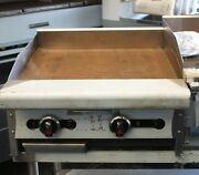 American Range Gas 24 Thermostatic Griddle Artg-24l-xt Extra Thermostat New