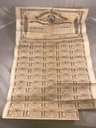 1864 1000 Confederate Bond W/ 59 Coupons Second Series 297