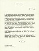 Hyman G. Rickover - Typed Letter Signed 08/18/1969