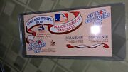 1983 Old Timers All Star Game Ticket Stub Comiskey Park