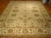 Ivory Mahal Carpet 12x15 Hand-knotted New Very Soft Wool Area Rug Pix-2339