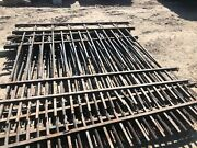 vintage Wrought Iron 6'x7' Fence Sections