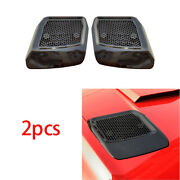 Car Machine Cover Air Outlet Frame Cover Abs Piano Black For Ford Mustang 18-20