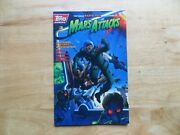 1994 Vintage Topps Mars Attacks Mini 3 Signed Keith Giffen,with Poa