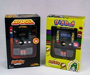 Midway Arcade Classics Defender 17 And Dig Dug 13 Handheld Game Systems Nib.