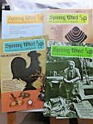 3 -spinning Wheel Antiques Mags- 1969,70,71. Tools, Roseville, Tins, More
