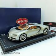 Bugatti Chiron Sky View Argent Mr Collection 1/18 Bug08b