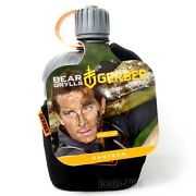 Bear Grylls Canteen Flask Water Bottle Military Survival Cooking Cup Bpa Free