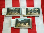 2004, 2005, And 2006 Westward Journey Nickel Series Coin Sets Issued By Us Mint