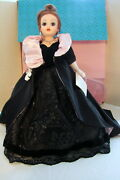 Madame Alexander Onyx Velvet And Lace Gala Gown And Coat Cissy 328/2500 67304