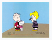 Peanuts-joe Cool Limited Edition Cel Set Signed By Melendez