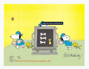 Peanuts-dr. Snoopy Limited Edition Cel Set Signed By Melendez
